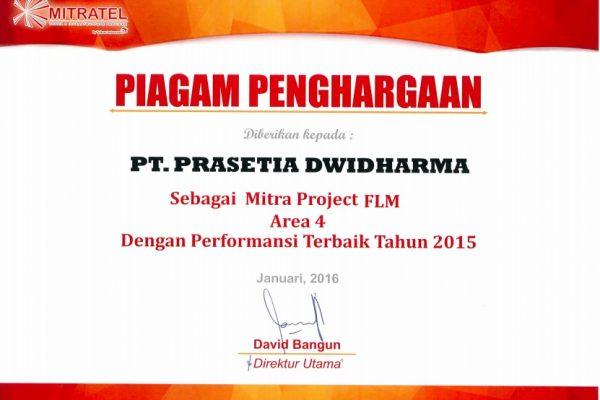MITRATEL 2015_Mitra Project Film Area 4 Dengan Performansi Terbaik