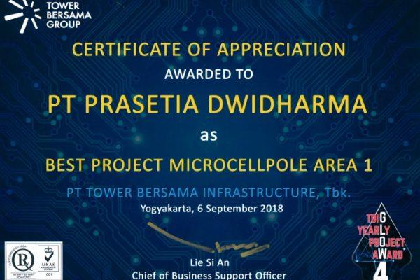 TBG 2018_Best Project Microcellpole Area 1