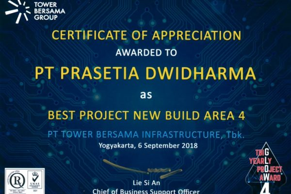 TBG 2018_Best Project New Build Area 4